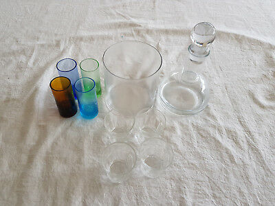 Decanter and Shot Glasses