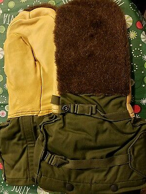 NEW USGI Military Issue coyote color Arctic Mittens Extreme Cold Weather Mittens