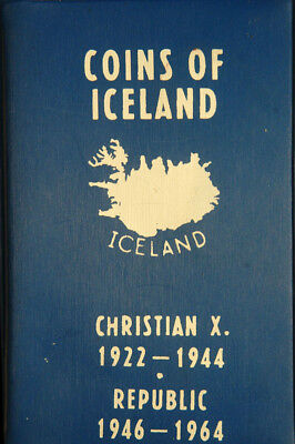 Coins Of Iceland Set Of 14 Coins (Christian X 1922-1944 & Republic 1946-1964)
