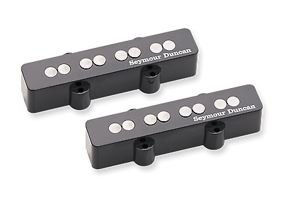New in box Seymour Duncan Quarter Pound Jazz Bass SJB-3S replacement pickup set