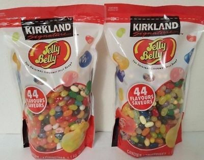 USA Original Jelly Belly Gourmet Bean 2.2kg Bulk 44 Offical Flavours Lollies