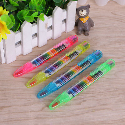 20 Colors Replaced Crayon Multi-color Kids Painting Pen Student Drawing Tools