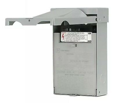 Eaton DPU222R Non-Fusible Pull-out Switch AC Disconnect 60A Rainproof