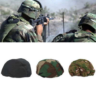 M88 Airsoft Paintball Type Helmet Cover Cloth Camo Green Black Hunting Hat
