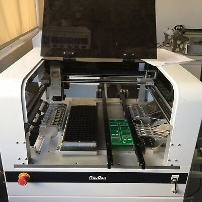PCB PROTOTYPE PRODUCTION Line NeoDen4 with printer PM3040 4 head 0201 0402  ICs-J
