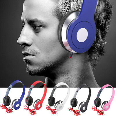 Foldable Over-Ear Teens Headphones Bass Earphones With 3.5mm Jack For Game Phone