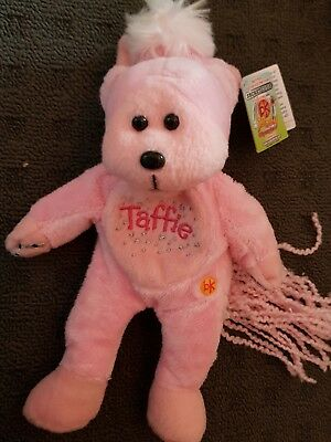 SKANSEN BEANIE KID TAFFIE THE PINK PONY MWMT RARE COLL. No3 OF 3 HORSE XMAS GIRL