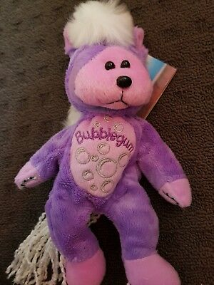 SKANSEN BEANIE KID BUBBLEGUM THE PINK PONY MWMT RARE COLL. 1of 3 HORSE XMAS GIRL