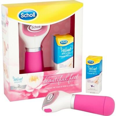 Scholl Velvet Smooth Pedicure File Tool and Serum Gift Set - NEW and Original.