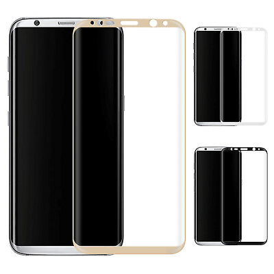 3D Curved Full Protect Tempered Glass Cover Film For Samsung Galaxy S8/S8 Plus