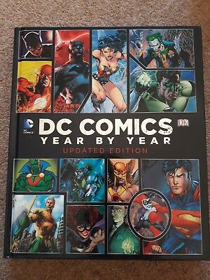 dc comics year by year updated edition