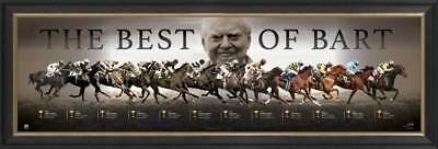 The Best of Bart - Bart Cummings Melbourne Cup Limited Edition Print Framed