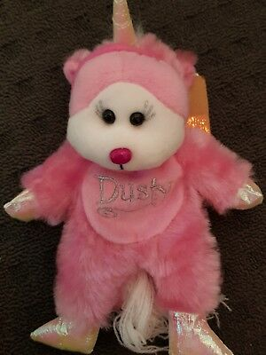 Skansen Beanie Dusty The Unicorn Bear What's New Excl Mwmt Retired Rare Girl