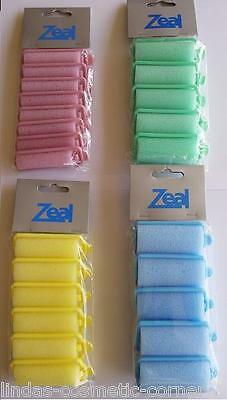 Zeal Products Foam Hair Rollers - Choose From 4 Sizes