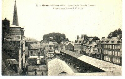 (S-89387) France - 60 - Grandvilliers Cpa