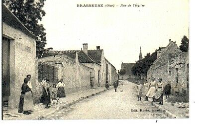 (S-89577) FRANCE - 60 - BRASSEUSE CPA      ROZEE ed.