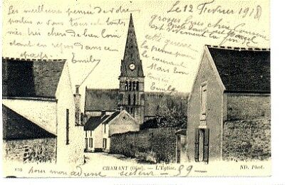 (S-96665) France - 60 - Chamant Cpa