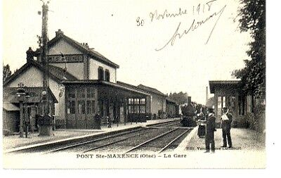 (S-89205) France - 60 - Pont Ste Maxence Cpa