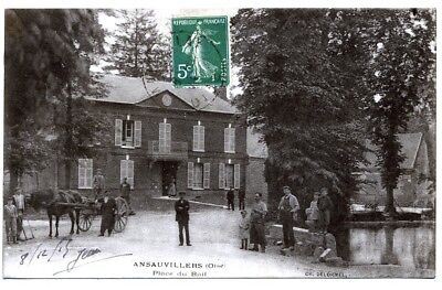 (S-104446) FRANCE - 60 - ANSAUVILLERS CPA      DELORMEL CH.  ed.