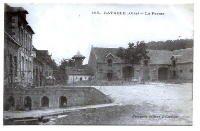 (S-104508) FRANCE - 60 - LATAULE CPA      FREZQUIN ed.