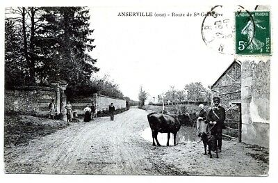 (S-117789) FRANCE - 60 - ANSERVILLE CPA      MARTIN ed.