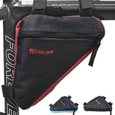 MTB Bicycle Front Top Tube Bag Cycling Bike Triangle Frame Storage Pack Pouch