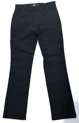 All Uniform Wear Mid-Rise 4 Pocket Straight Leg Pants, Youth Size 10 Slim