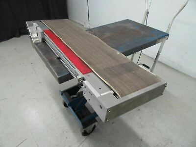 Conveyor 10.25'' x 46.5'' No Motor (Used and Tested)
