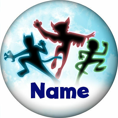 Masked Heroes Personalized Mini Magnet (Each)