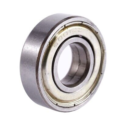 6001ZZ Double Shielded Deep Groove Ball Bearings 28mm x 12mm x 8mm S1H6