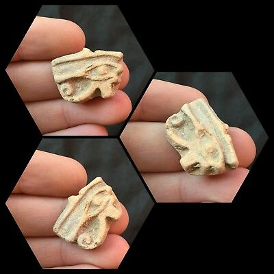 Beautiful Ancient Egyptian Eye Of Horus Amulet 300B.C.