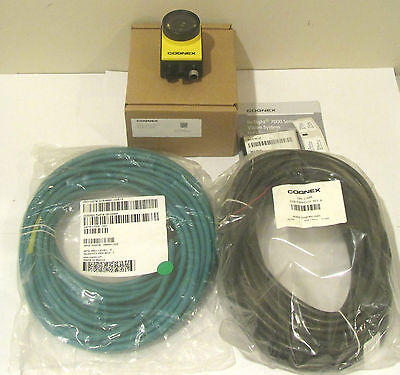 NEW COGNEX IS7400-11 w/ Patmax + Cables & Lens Kit In Sight Vision 7400-11 Qty