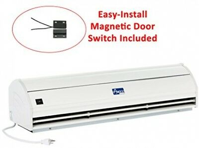 48 Inch Air Curtain 2 Speeds Indoor With Door Switch Fly Fan Door Window NEW