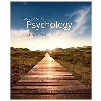Introduction to Psychology by James W. Kalat (Tenth Edition, Paperback)