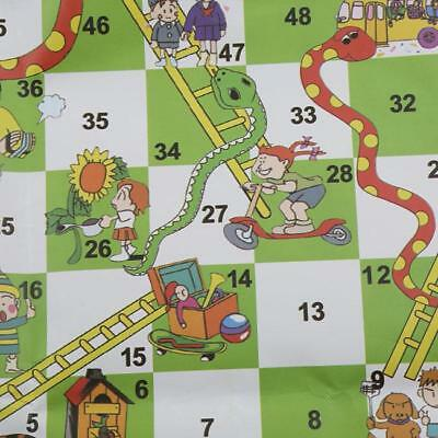 Traditional Board Games Set Children Ludo Snakes and Ladders Draughts Game N7