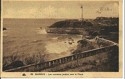 (S-60309) FRANCE - 64 - BIARRITZ CPA LE PHARE     CAP ed.