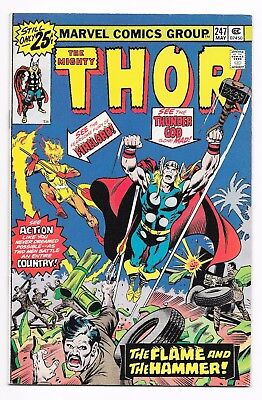 Thor #247 (1976) FIRELORD! Higher Grade VF or Better!! No Reserve!!