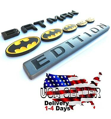 BATMAN FAMILY EDITION Emblem Exterior car truck FORD logo decal SIGN NEW* 004