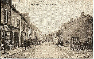 (S-38810) FRANCE - 70 - JUSSEY CPA      C.L.B.  ed.