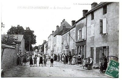 (S-46855) FRANCE - 71 - BOURGNEUF MERCUREY CPA      B.F. CHALON ed.