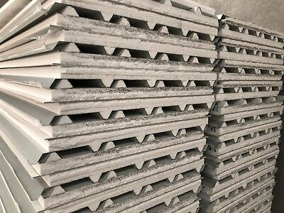 50mm Insulated Sandwich Roofing Panel 5.8m Length  $33 Per Meter