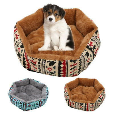 Soft Pet Dog Cat Bed Puppy Cushion House Warm Kennel Dog Mat Blanket Pad Printed