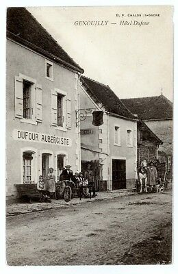 (S-108092) FRANCE - 71 - GENOUILLY CPA      B.F. CHALON ed.