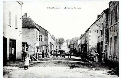 (S-108093) FRANCE - 71 - GENOUILLY CPA      RAVAUD et CHARLES  ed.
