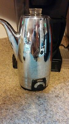 Vintage Sunbeam Coffee Master Automatic Percolator 8Cup  AP8A