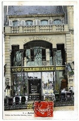 (S-113913) FRANCE - 71 - AUTUN CPA      NOUVELLES GALERIES ed.