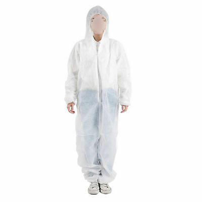 Disposable DIY Paper Suittective Overall Coverall Work Clothes M-XXXL AUD
