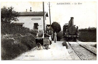 (S-114594) France - 71 - Baudrieres Cpa