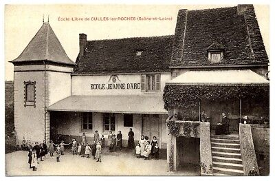 (S-114939) France - 71 - Culles Les Roches Cpa