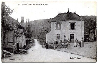 (S-114940) FRANCE - 71 - CULLES LES ROCHES CPA      TUPINIER ed.